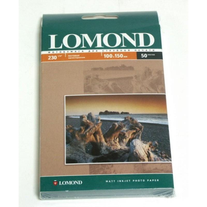 Фотобумага Lomond A4 230g/m2 матовая одностороняя 0102016