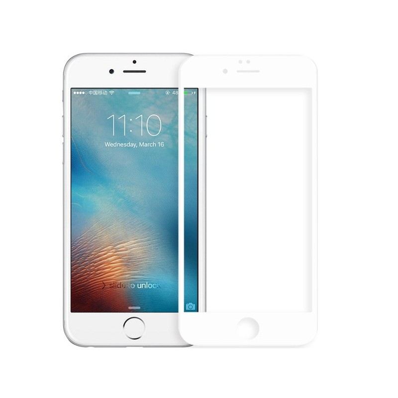 Защитное стекло Zibelino для APPLE iPhone 7 / 8 TG 5D White ZTG-5D-APL-IPH8-WH