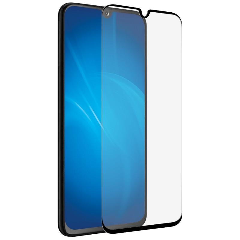 Защитное стекло Solomon для Samsung Galaxy A90 Full Glue Black 5088