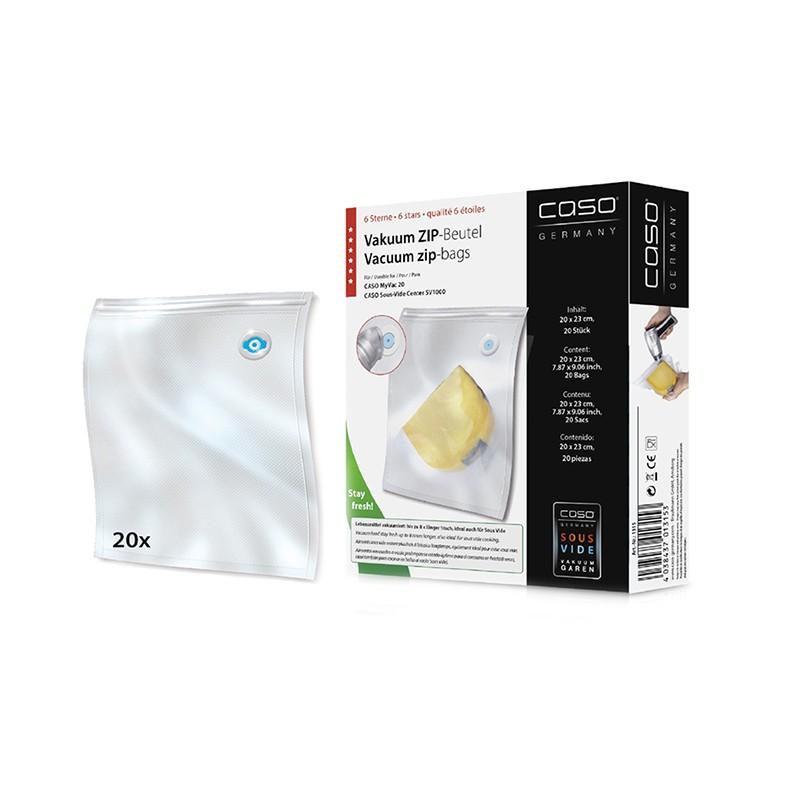 Вакуумные пакеты Caso Zip 20x23cm 20шт