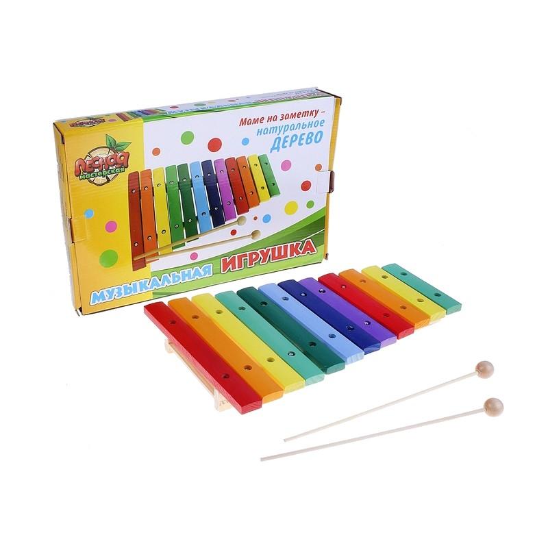 Детский музыкальный инструмент Лесная мастерская Ксилофон 454307
