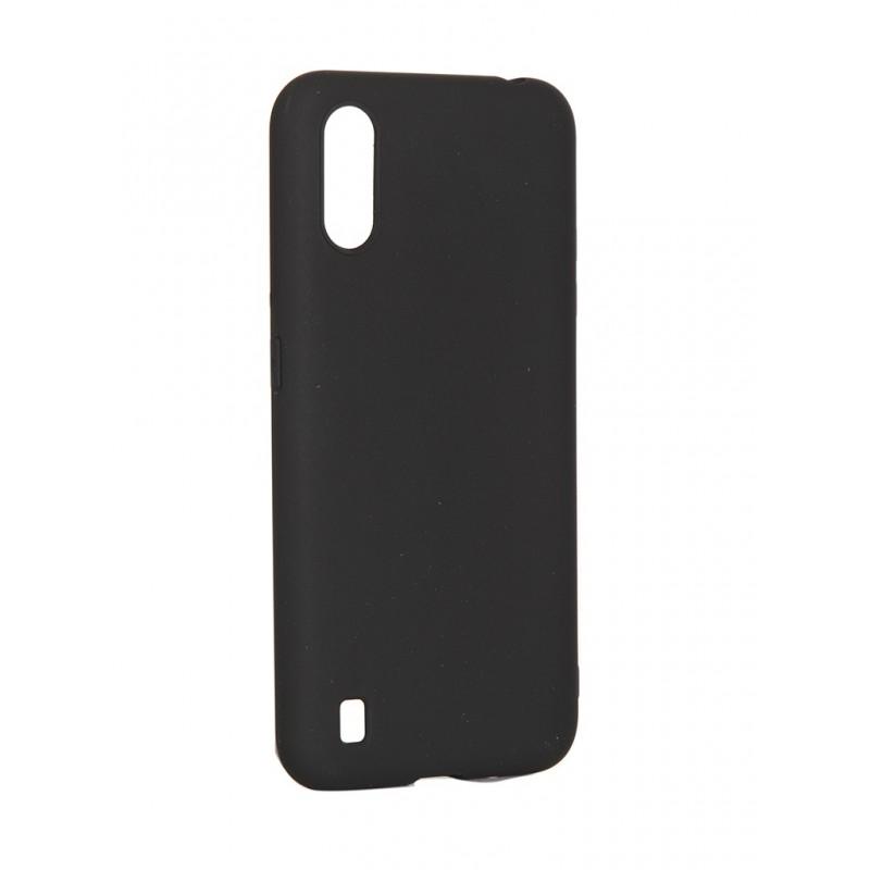 Чехол Pero для Samsung Galaxy A01 Soft Touch Black CC01-A01B