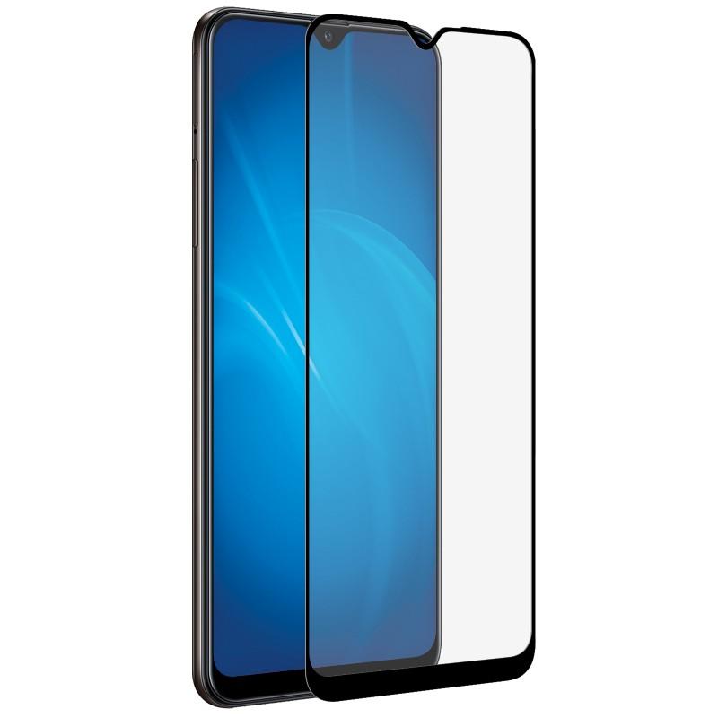 Защитный экран Red Line для Samsung Galaxy A12 Full Screen Tempered Glass Full Glue Black УТ000023496