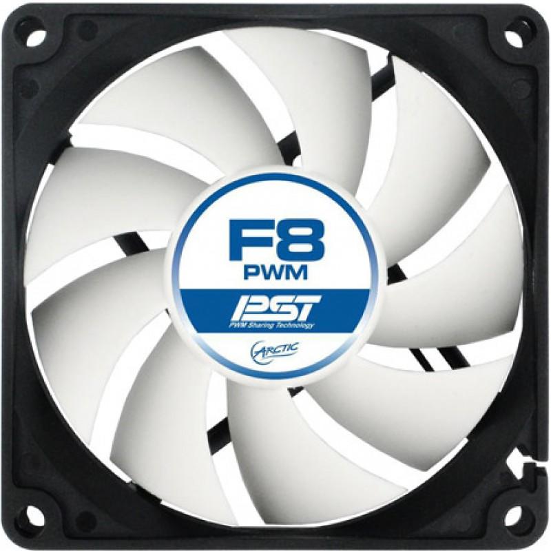 Вентилятор Arctic Cooling F8 PWM PST AFACO-080P0-GBA01 80mm