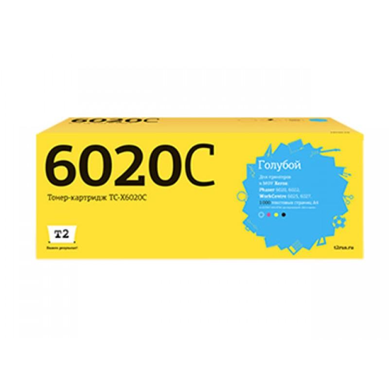 Картридж T2 TC-X6020C Cyan