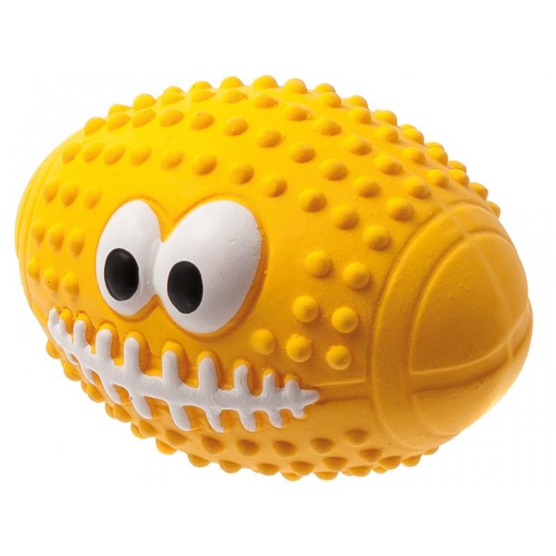 Мяч регби с глазами ZooOne L-436
