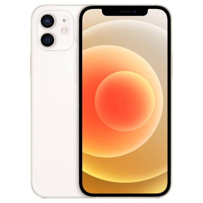 Сотовый телефон APPLE iPhone 12 128Gb White MGJC3RU/A Выгодный набор + серт. 200Р!!!