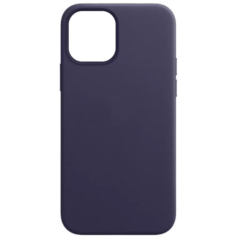 Чехол для APPLE iPhone 12 Pro Max Leather with MagSafe Deep Violet MJYT3ZE/A