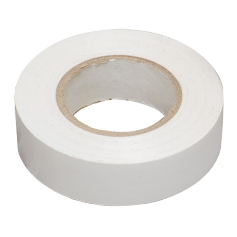 Изолента Rexant 19mm х 25m White 09-2201