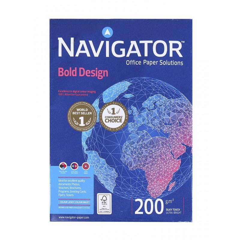 Бумага Navigator Paper Bold Design A4 200g/m2 150 листов