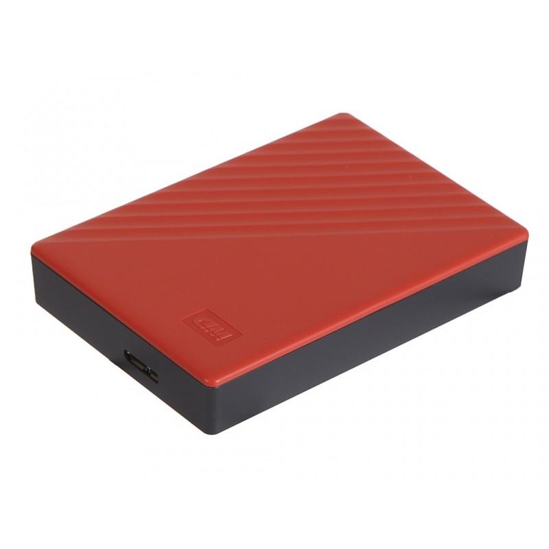 Жесткий диск Western Digital My Passport 4Tb Red WDBPKJ0040BRD-WESN Выгодный набор + серт. 200Р!!!