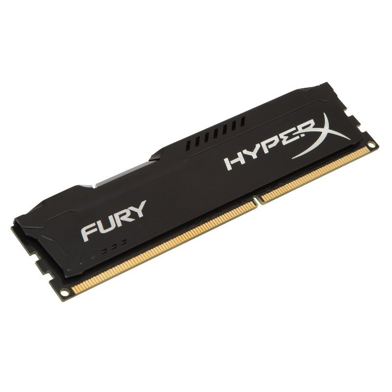 Модуль памяти HyperX Fury Black DDR3 DIMM 1866MHz PC3-15000 CL10 - 8Gb HX318C10FB/8