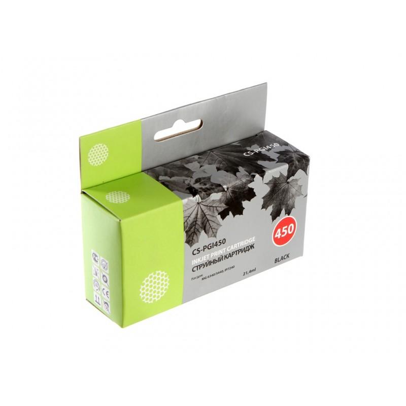 Картридж Cactus CS-PGI450 для Canon MG 6340/5440 IP7240 Black