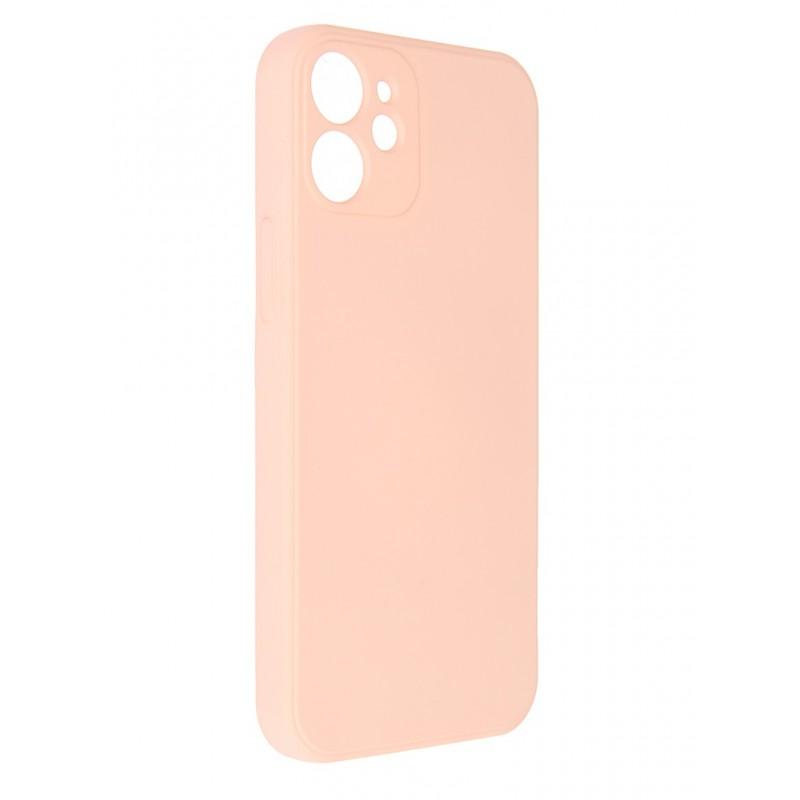Чехол Pero для APPLE iPhone 12 mini Liquid Silicone Pink PCLS-0024-PK