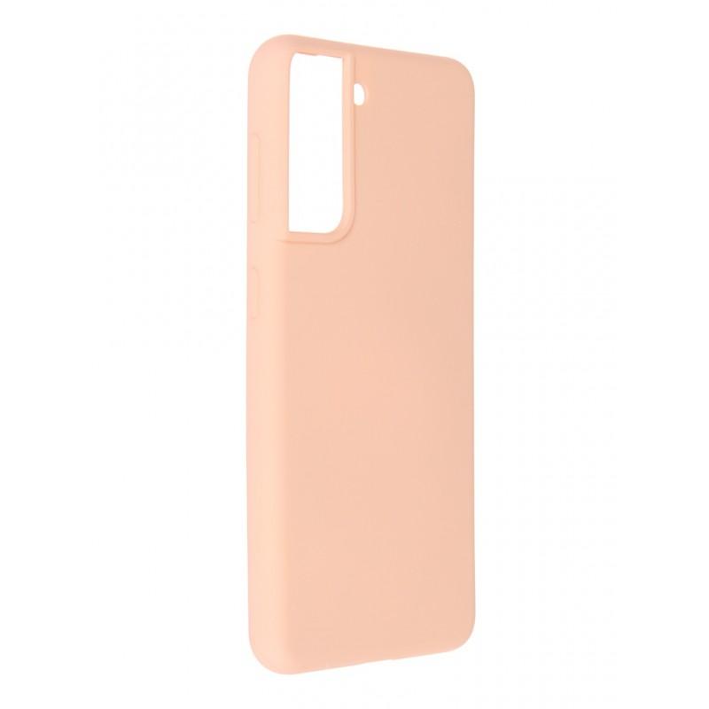 Чехол Pero для Samsung Galaxy S21 Liquid Silicone Light Pink PCLS-0037-PK