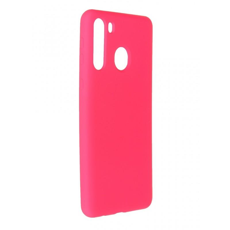 Чехол Innovation для Samsung Galaxy A21 Soft Inside Light Pink 19150