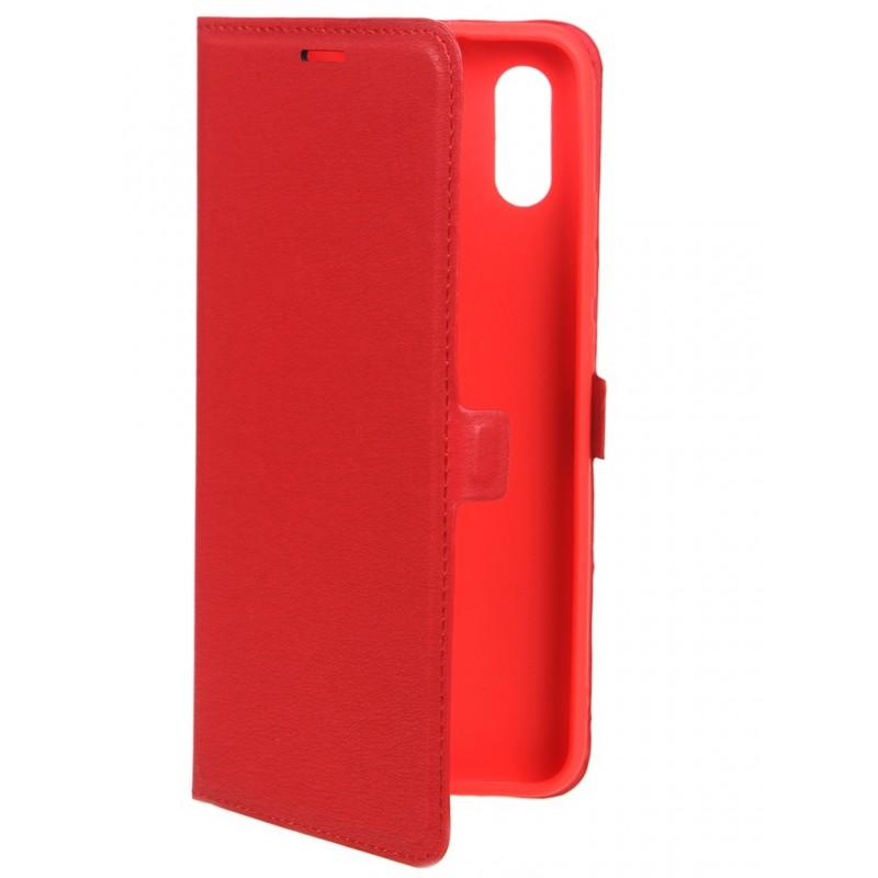 Чехол Krutoff для Xiaomi Redmi 9A Eco Book Red 11160