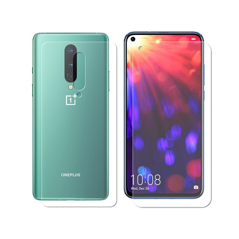 Гидрогелевая пленка LuxCase для OnePlus 8 0.14mm Front and Back Matte 86361