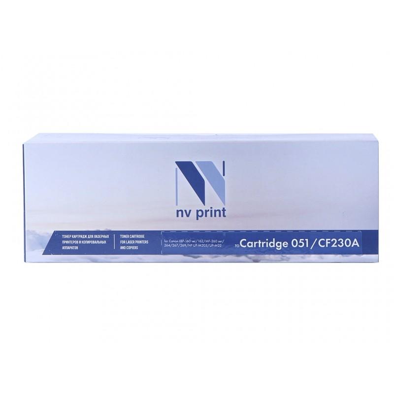 Картридж NV Print 051 для Canon, совместимый