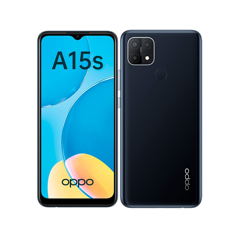 Сотовый телефон Oppo A15s CPH2179 4/64Gb Black & Wireless Headphones Выгодный набор + серт. 200Р!!!