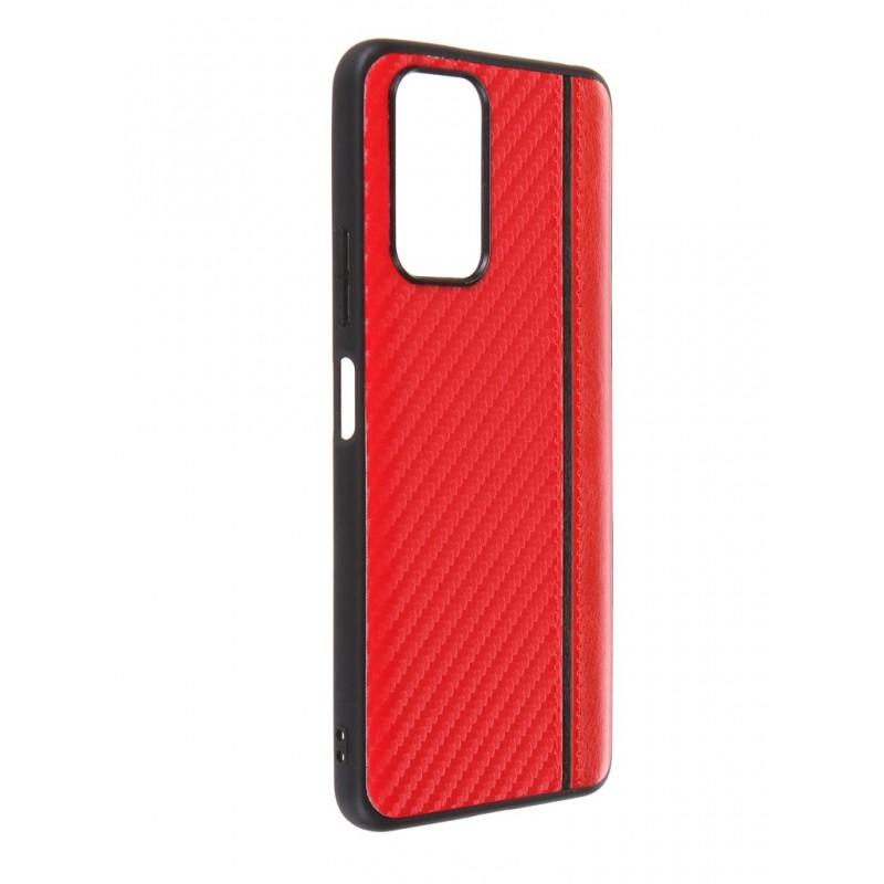 Чехол G-Case для Xiaomi Redmi Note 10 Pro Carbon Red GG-1353