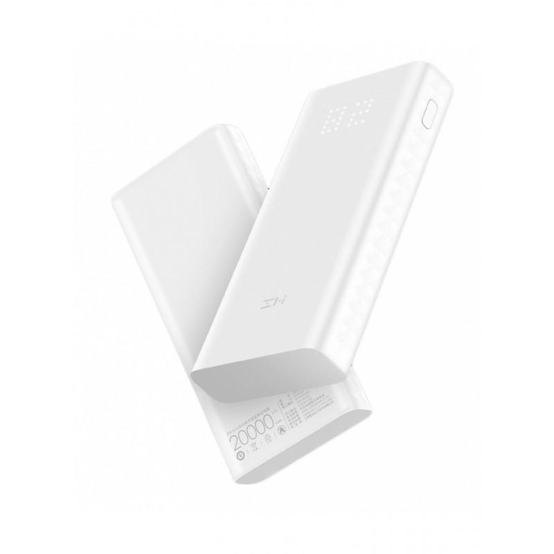 Внешний аккумулятор Xiaomi ZMI Power Bank Aura QB821 20000mAh White