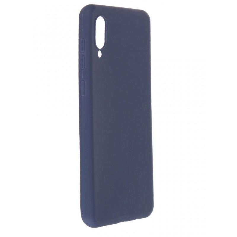Чехол Neypo для Samsung Galaxy A02 2021 Soft Matte Silicone Dark Blue NST21675