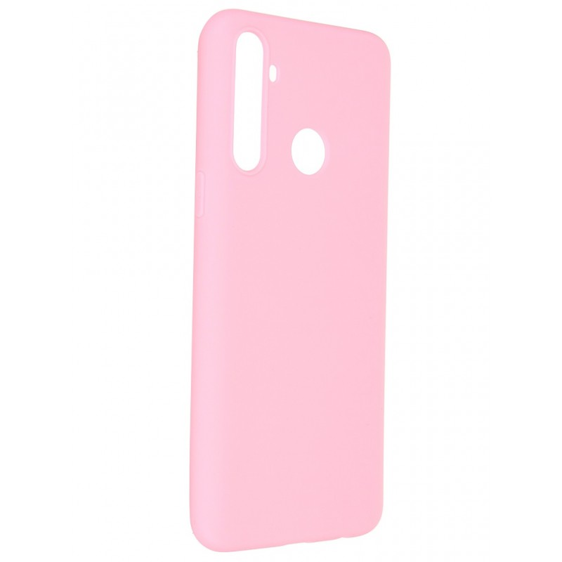 Чехол Pero для Realme C3 Soft Touch Pink CC1C-0039-PK