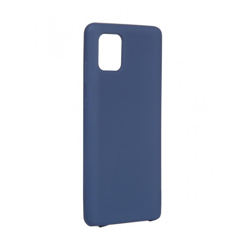 Чехол Innovation для Samsung Galaxy Note 10 Lite/A81/M60S Silicone Cover Blue 16852