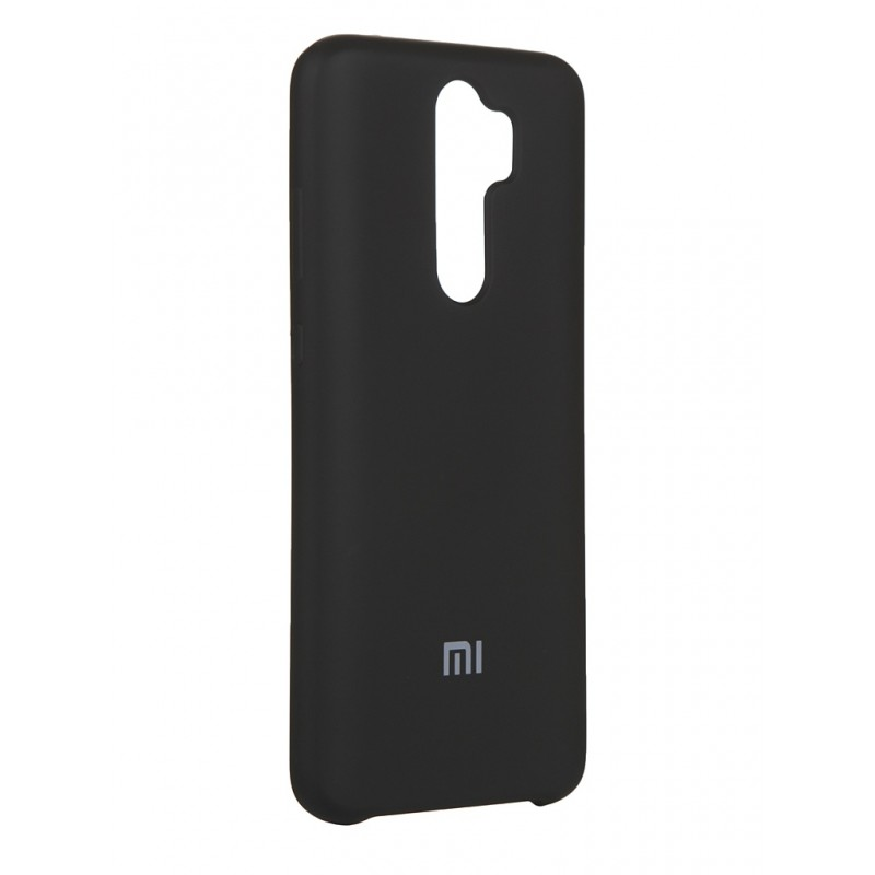 Чехол Innovation для Xiaomi Redmi Note 8 Pro Silicone Cover Black 16595