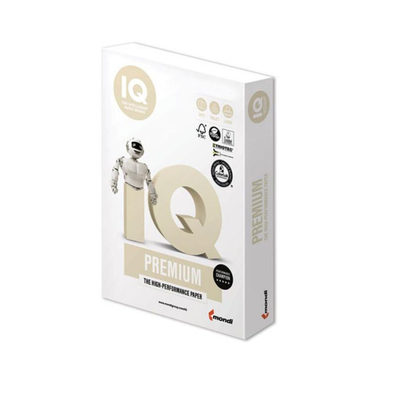 Бумага IQ Premium A4 160g/m2 250 листов A+ 110750