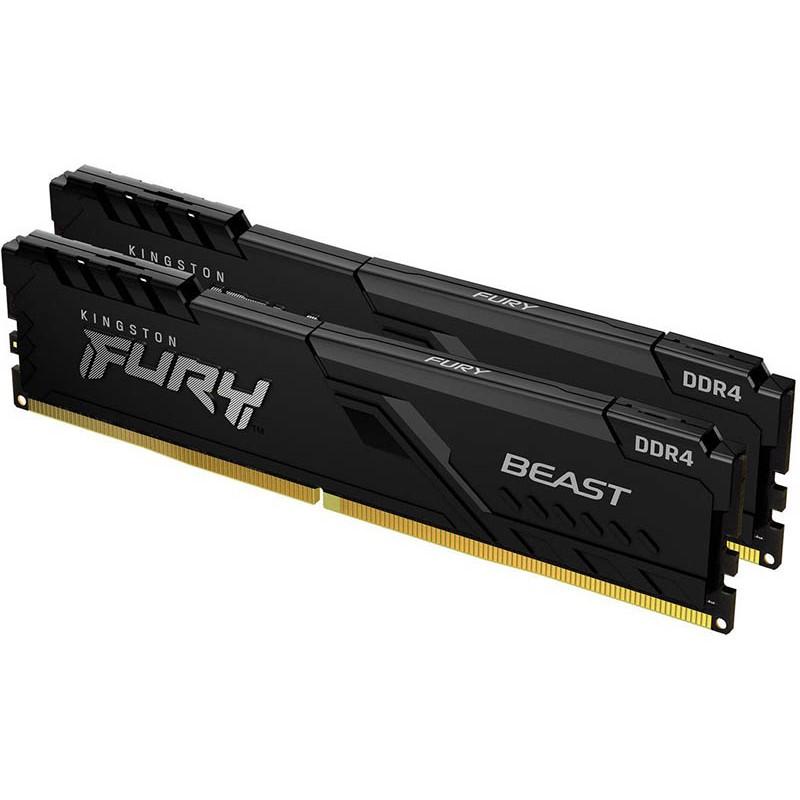 Модуль памяти Kingston Fury 32GB (16GBx2) DDR4 2666MHz DIMM 288-pin CL16 KF426C16BB1K2/32