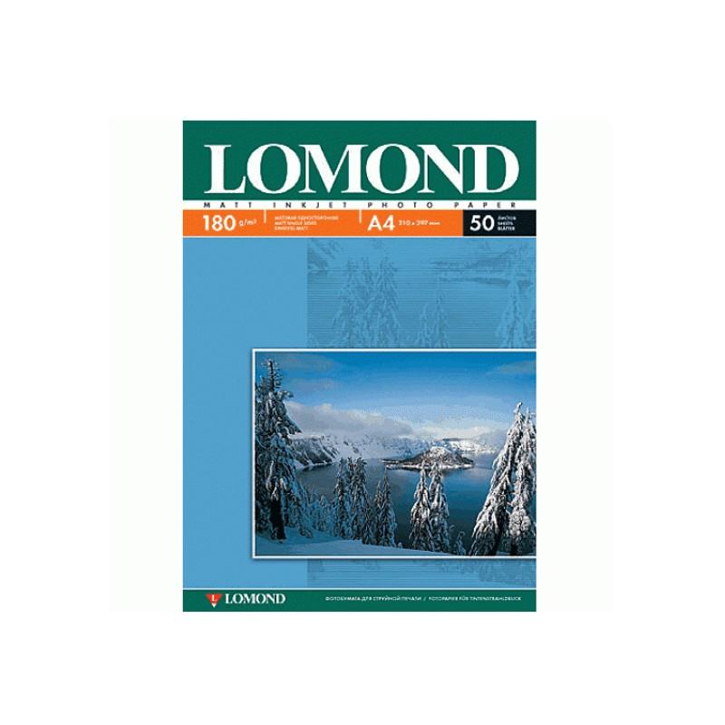 Фотобумага Lomond А4 180g/m2 матовая односторонняя 50 листов 102014