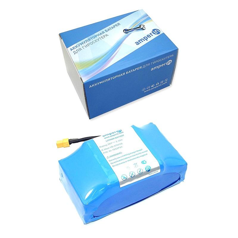 Аккумулятор Vbparts Amperin 10S2P 36V 2.4Ah Li-ion 076432