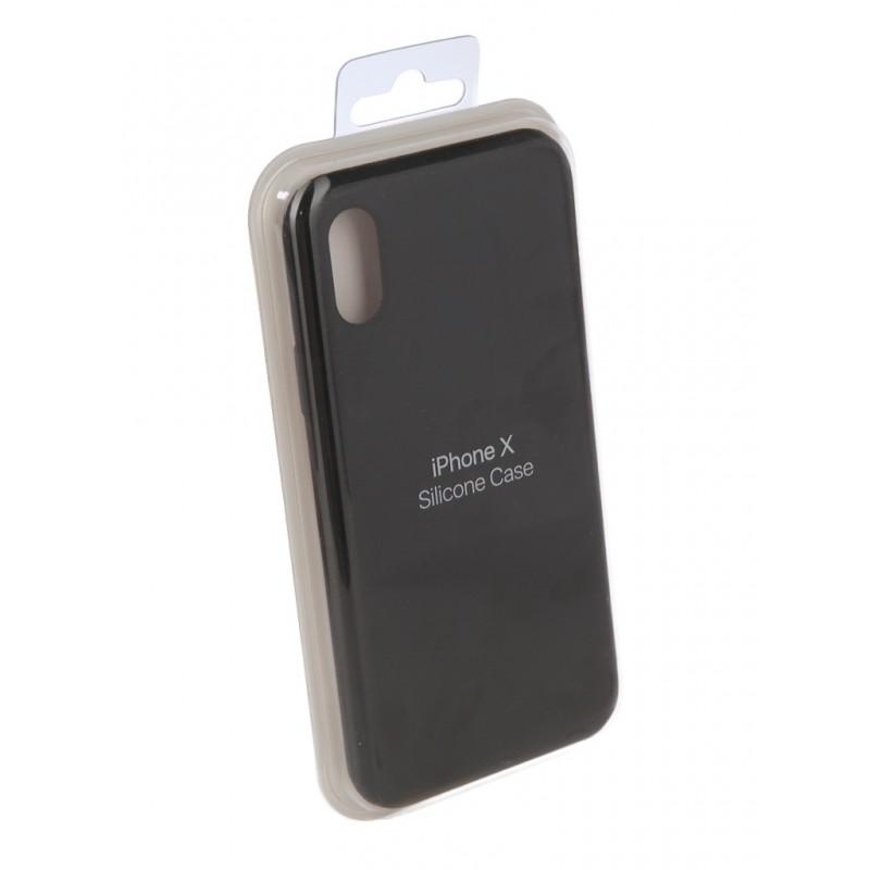 Чехол Innovation для APPLE iPhone X Silicone Black 10305