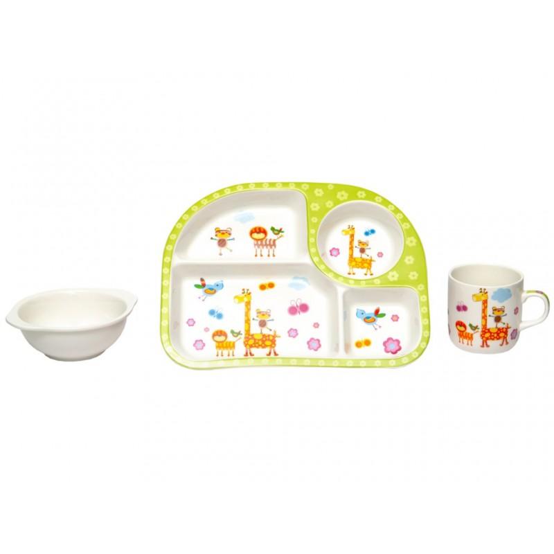Набор детской посуды Lavenir Зоопарк 192-47088