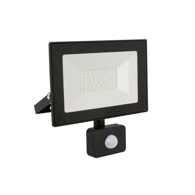 Прожектор Ultraflash LFL-3002S C02 30W 230V 6500K Black 13330