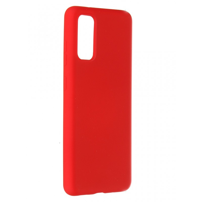 Чехол Pero для Samsung Galaxy S20 Liquid Silicone Red PCLS-0010-RD