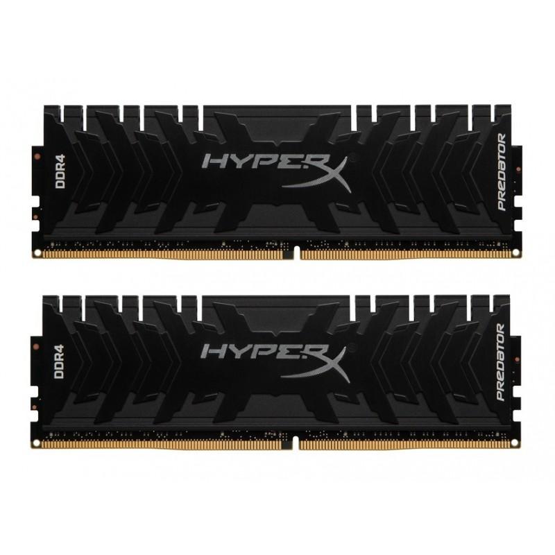 Модуль памяти HyperX Predator DDR4 DIMM 2666MHz PC4-21300 CL13 - 16Gb KIT (2x8Gb) HX426C13PB3K2/16
