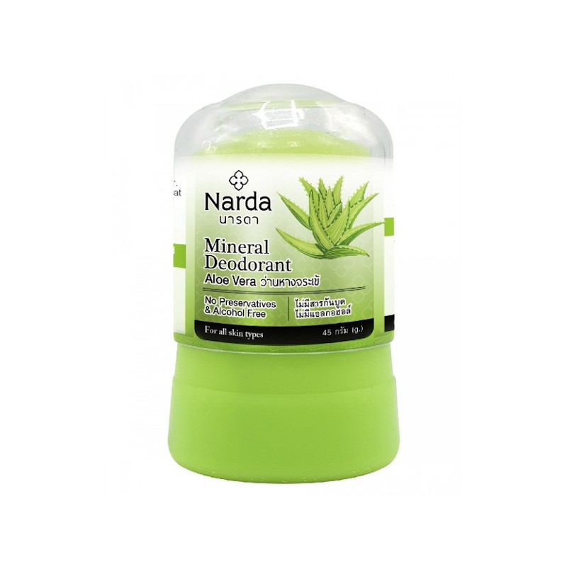 Дезодорант Narda Mineral Deodorant Aloe Vera 45г 60143