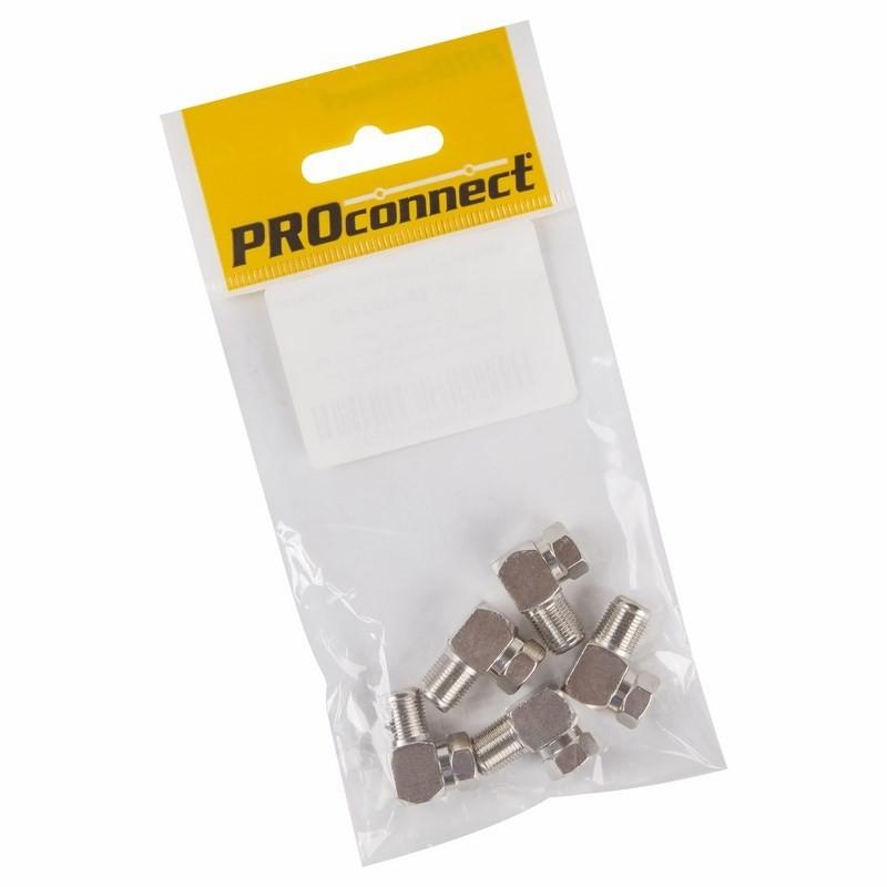 Переходник ProConnect F/F угловой 5шт 05-4203-4-9