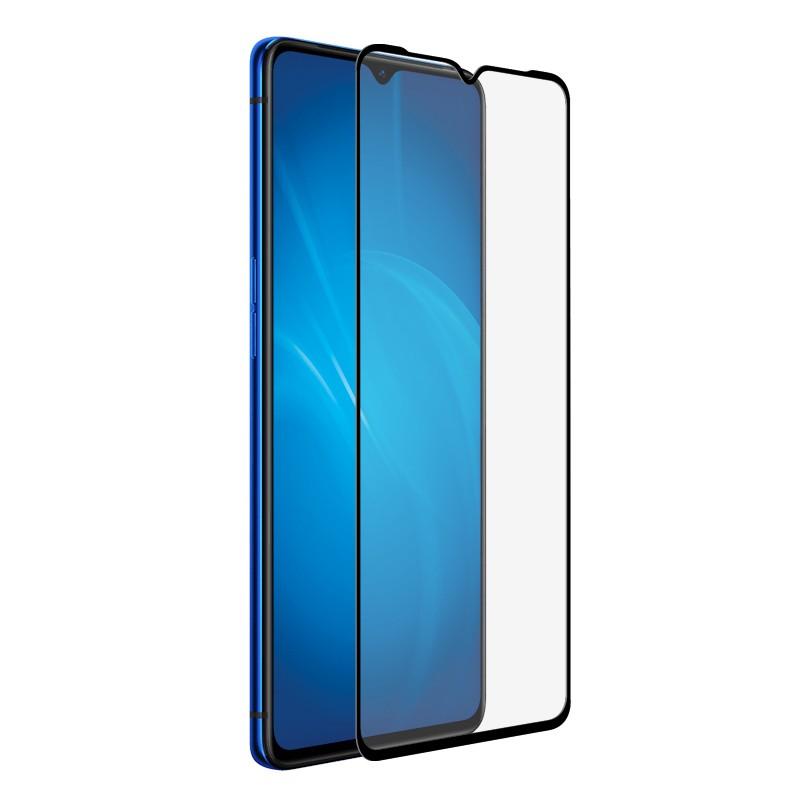 Защитный экран Red Line для Realme 6i Full Screen Tempered Glass Full Glue Black УТ000021239