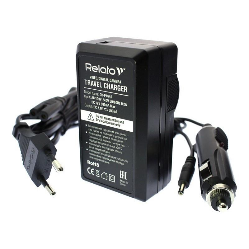 Зарядное устройство Relato CH-P1640/ENEL12 для Nikon EN-EL12