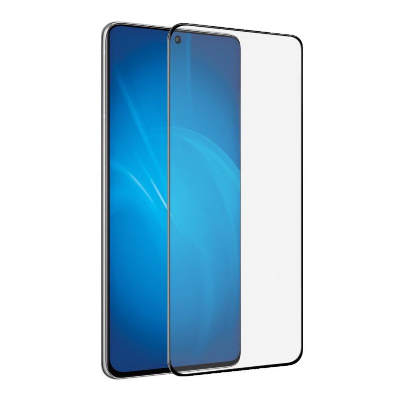 Закаленное стекло DF для Samsung Galaxy S21 Plus Full Screen Full Glue Black sColor-113