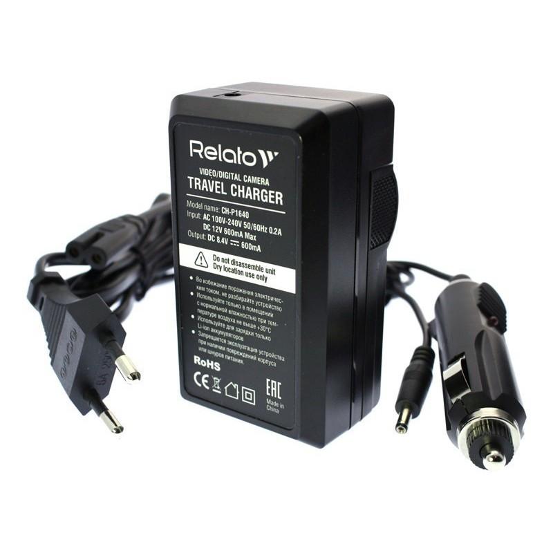 Зарядное устройство Relato CH-P1640/NB10L для Canon NB-10L
