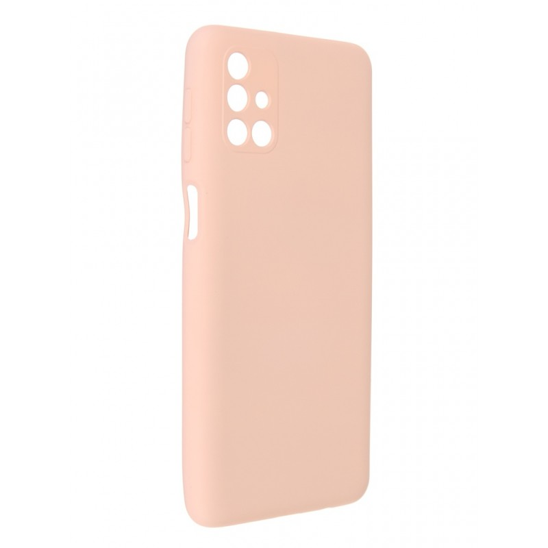 Чехол Pero для Samsung M31S Liquid Silicone Light Pink PCLS-0046-PK