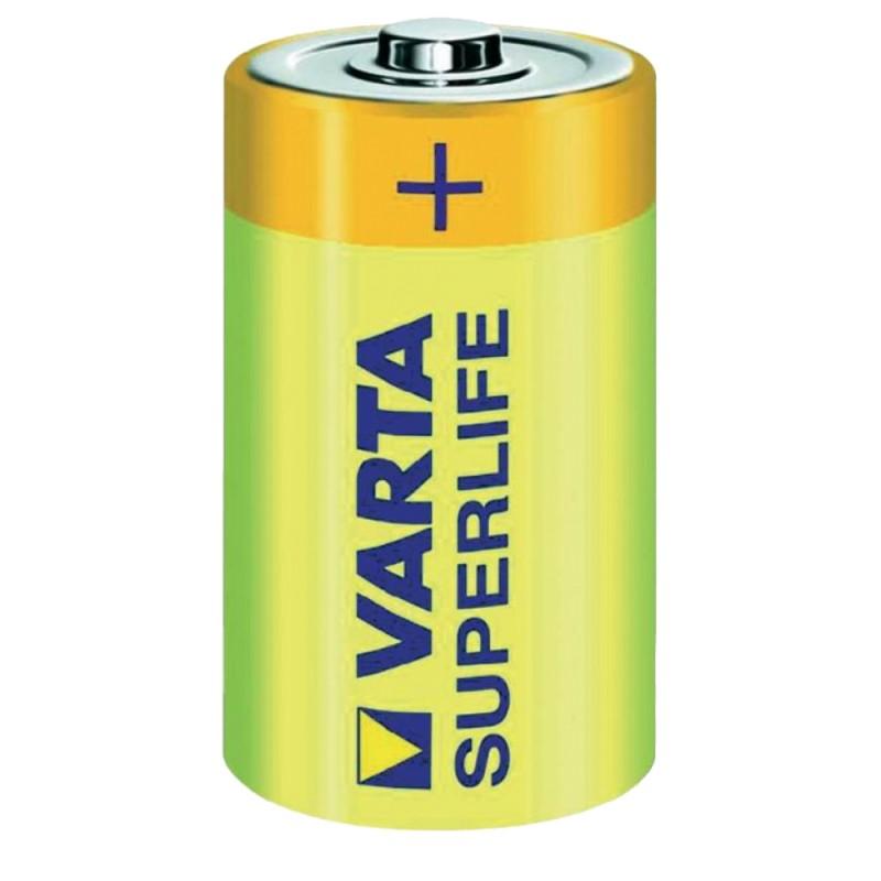 Батарейка D - Varta Superlife 2020 R20 (2 штуки) 01241