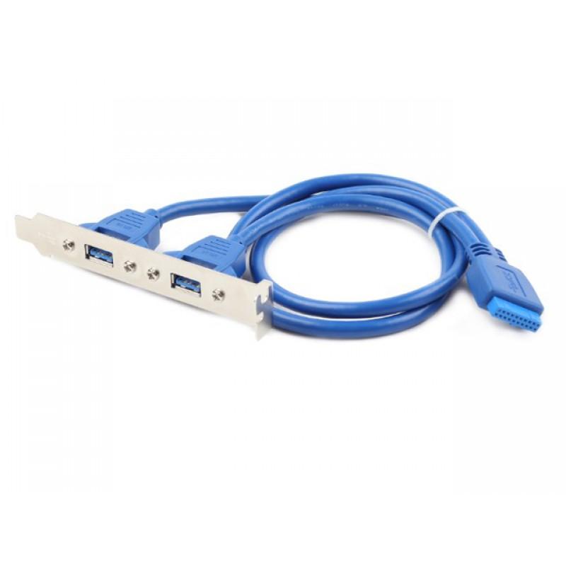 Контроллер Gembird Cablexpert 2xUSB 3.0 - 20pin CC-USB3-RECEPTACLE