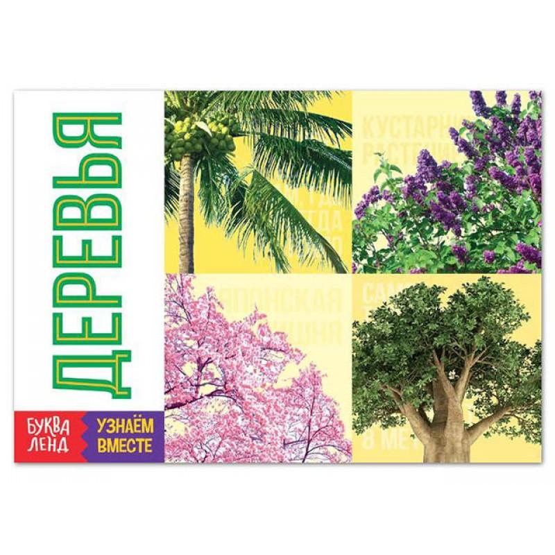 Пособие Буква-ленд Обучающая книга Деревья 6257483