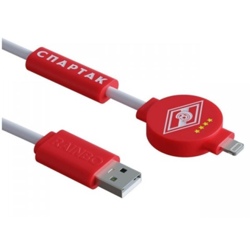 Аксессуар Зарядный кабель Rainbo Спартак Питон Lightning 1m RBP-SL001